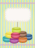 Macaron Label Sticker