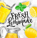 Poster fresh lemonade