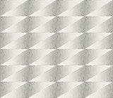 Vector Seamless Black and White Stippling Halftone Gradient Rhombus Pattern