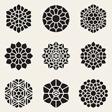 Vector Decorative Mandala Ornaments Illustration