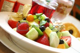 Breakfast series - Fresh fruit bowl