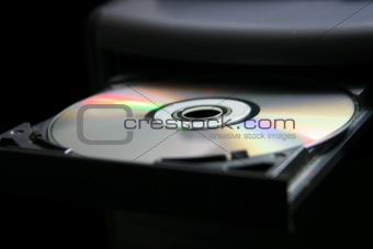 CD Tray with CD