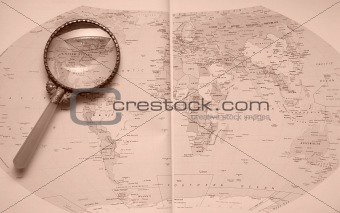 Atlas Magnifier United States