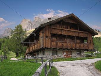 Alpine House, Dolomites