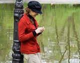 Woman Exploring