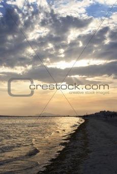 Beach in Santa Pola