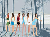 Fashion girls - Stylized Silhouettes