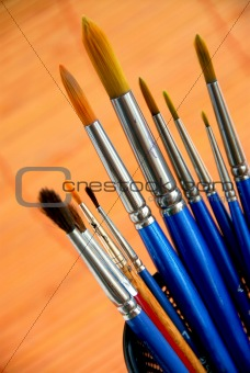 Paintbrushes holder