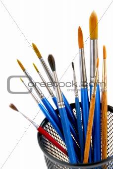 Paintbrushes holder