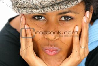 Kissing girl