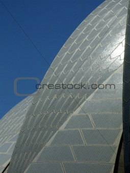 Sydney Opera House Sails: Abstract
