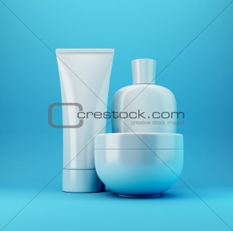 Cosmetic Products 3 - Blue