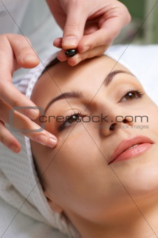 skin treatment applying