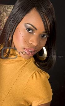 Beautiful black girl (portrait)