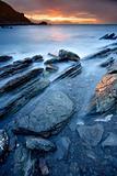 Rocks on the sea of Barrika