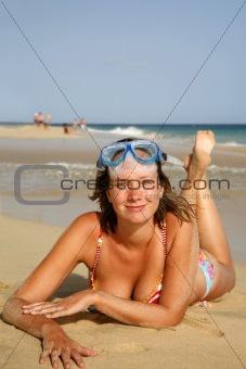 Beach Sunbather