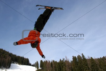 Ski Jump back flip