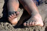Childs Sandy Feet