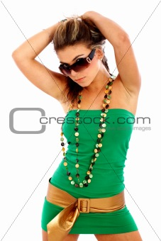 fashion woman - sunglasses