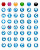 icons and buttons