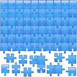 Glass Puzzle Aqua