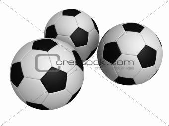 3d footballs