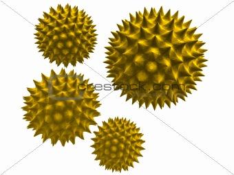 3d pollen