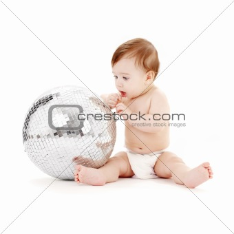 glitterball baby