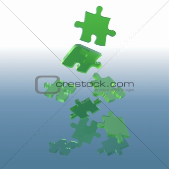 Green Glass Puzzle