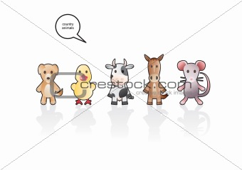 Country animals