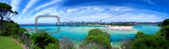 Beach Paradise Panorama