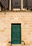 Mediterranean Baroque Door