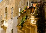 Medieval Baroque Balcony