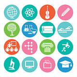 Education and study icon