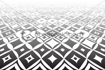 Tiled surface. Geometric background.
