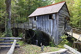 Old saw mill in Smoky Mountains