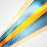 Colorful abstract tech striped background