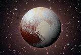Solar System - Pluto. Dwarf planet in the Kuiper belt.