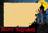 Halloween Card With Web