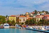 La Spezia in Italian Riviera, Liguria, Italy.