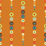 Bright circles seamless baby background.