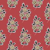Vintage flower seamless pattern background.