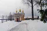 All Saints church in Orthodox monastery.