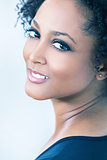 Beautiful Mixed Race African American Girl Woman