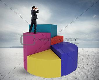 Businessman aspires to success
