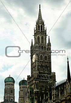 Clock Tower MarienPlatz