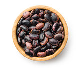 dried beans in bowl