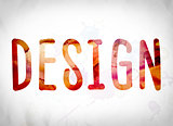 Design Concept Watercolor Word Art