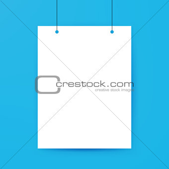 Blank Poster Template