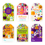 Halloween Gift Tag Labels